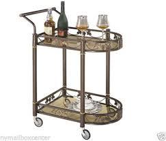 bar carts serving carts home garden