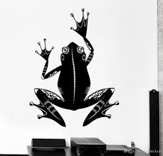Frog Symbol Animal Ornament Mural Vinyl Decal Kids Bedroom Wall Stickers Nursery Wallpaper Removable Pvc Home Decor Butterfly Wall Stickers Buy Decals From Joystickers 7 79 Dhgate Com