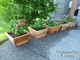 Cedar Planter Boxes Diy Planters Cedar Planter Box Planter Boxes