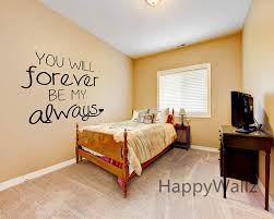 Love Quote Wall Sticker You Will Forever Be My Always Wall Quotes Decal Diy Decorative Love Quotes Vinyl Wall Art Decal Q100 Vinyl Wall Art Decals Wall Art Decalswall Quotes Aliexpress