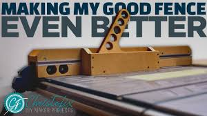 Table Saw Fence Update 2 0 Makita Mlt100 Free Plans Building My Workshop Episode 32 Youtube
