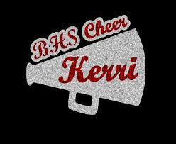 Custom Glitter Cheer Car Decal By Abbysclosettx On Etsy Cheer Shirts Cheer Signs Custom Glitter