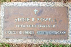 Addie Rector Powell (1902-1984) - Find A Grave Memorial