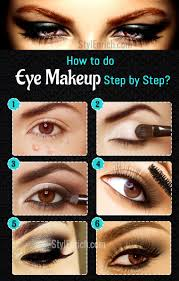 an easy guide to learn eye makeup