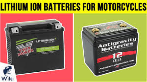 lithium ion batteries for motorcycles