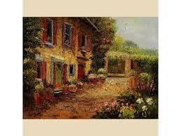 large handmade original tuscan morning