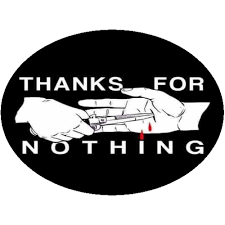 Thanks For Nothing Sticker U S Custom Stickers