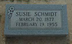 Susie Koehn Schmidt (1877-1955) - Find A Grave Memorial