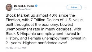 Economics of Donald Trump's Twitter Account