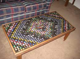 18 diy beer bottle cap table designs