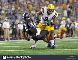 Aug. 31,2013:.LSU Tigers defensive tackle Ego Ferguson (9) drives ...