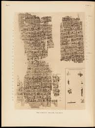 File:Page from Edwin Smith surgical papyrus.. Wellcome L0051967 ...