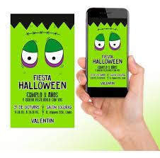 Invitacion Digital Y Lista Para Imprimir De Halloween 205 00