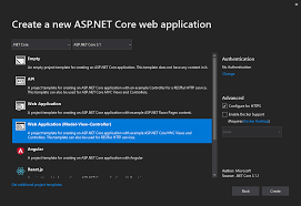 tutorial asp net core reactjs net