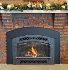 gas burning fireplace inserts gas