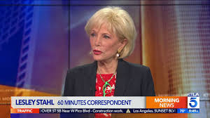 60 Minutes Correspondent Lesley Stahl ...