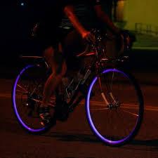 Fiks Reflective Wheel Stripes Keep Your Bicycle Visible At Night