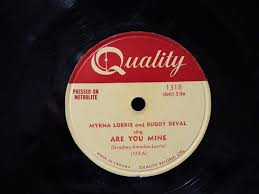 Myrna Lorrie - Are You Mine / You Bet I Kissed Him (1954, Vinyl) | Discogs