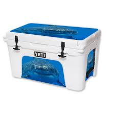 Skin Decal Wrap For Yeti Tundra Or Roadie Cooler 20 Qt 45 Qt 65 Qt Cover Sticker Shark Yeti Tundra Yeti Roadie Cool Wraps