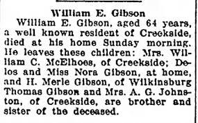 William E Gibson obit - Newspapers.com
