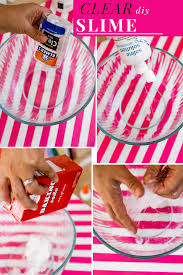 clear slime recipe with glue