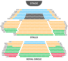 book of mormon seating chart sydney