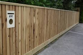 Cypress Picket Fence With Capping And Letterbox Top Class Fencing And Gates