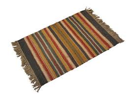 multicolor ablaze india jute rugs rs