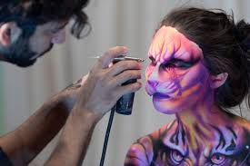special effects with airbrush makeup