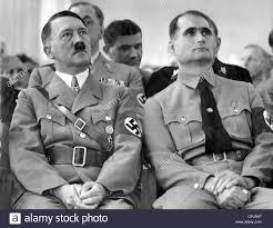 Adolf Hitler y Rudolf Hess en Munich, 1936 Foto & Imagen De Stock ...