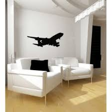 Boeing 747 Airplane Silhouette Vinyl Wall Decal Sticker Graphic By Lks Trading Post 81is0raqz74a