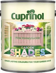 Cuprinol Garden Shades Pink Honeysuckle Matt Wood Paint 1l Diy At B Q Cuprinol Garden Shades Painting On Wood Shade Garden
