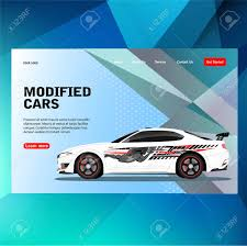 Modern Futuristic Template Concept Sticker Decal Race Contest Royalty Free Cliparts Vectors And Stock Illustration Image 126646654