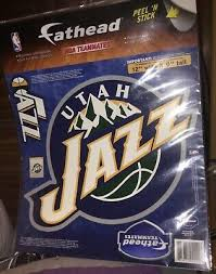 Fathead Nba Teammates Utah Jazz Logo Wall Decal 12 Wide X 9 Tall New Ebay Logo Wall Fathead Wall Decals