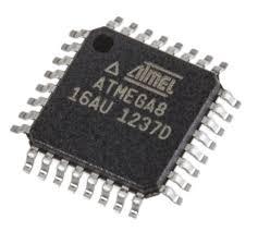 ATMEGA8-16AU Atmel | Atmel ATMEGA8-16AU, 8bit AVR Microcontroller, 16MHz,  512 B, 8 kB Flash, 32-Pin TQFP | 628-1687 | RS Components