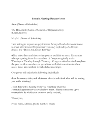sle meeting request letter in word