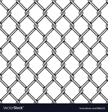 Steel Wire Mesh Seamless Background Royalty Free Vector