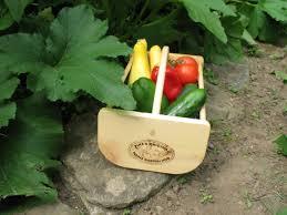 made in maine garden hod harvest basket