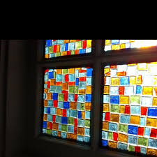 diy faux stained glass window 01 your