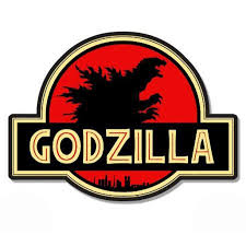 Godzilla Jurassic Park Vinyl Sticker Waterproof Decal Sticker 5 Walmart Com Walmart Com