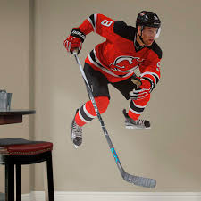 New Jersey Devils Taylor Hall Fathead Life Size Removable Wall Decal