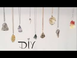 diy wire wrapped pendant 3 ways