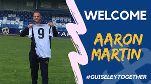 Lions Welcome Aaron Martin | Guiseley AFC