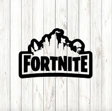 Fortnite Decal High Quality Outdoor Vinyl 4 X 6 Inch Pictured On The Playstation Picture Black Or White Custom Decals Fortnite Vinyl Decals