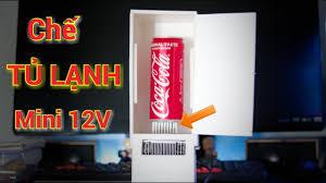 Chế Tủ Lạnh Mini Nhỏ Nhất Thế Giới - Make Mini Fridge - YouTube