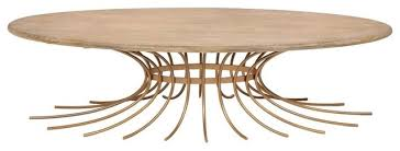 60 l oval coffee table hand crafted