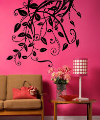 Vinyl Wall Decal Sticker Hanging Leaves And Vines 5326 Stickerbrand
