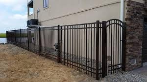 Aluminium 6ft Avant Accent Gate Smc Fence