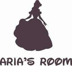 Belle The Disney Princess Cartoon Design Customized Name Wall Decal Custom Vinyl Wall Art Personalized Name Baby Girls Boys Kid Bedroom Wall Decal Room Decor Sticker Decoration Size 10x8