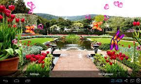 free 3d garden live wallpaper apk